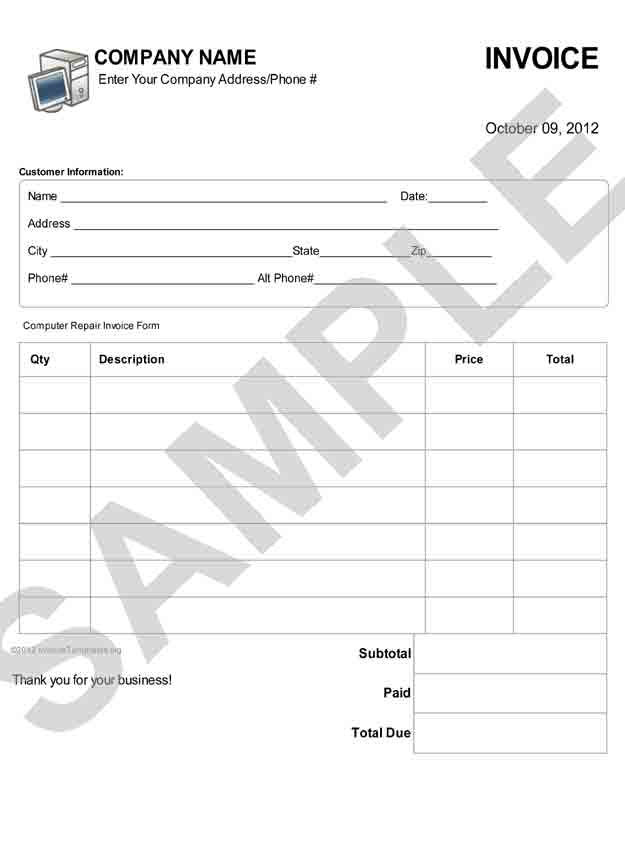 Repair Form Template. Utdallas Edu | It Is A Pdf Template Form