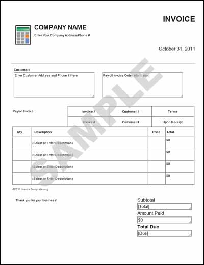 Payroll Deduction Form Template  Payroll Template Free
